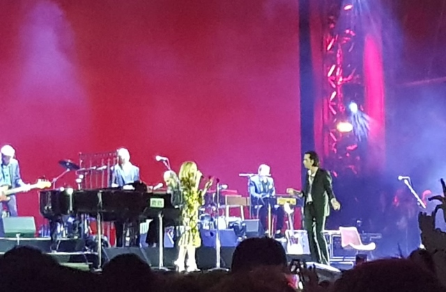 Nick Cave and Kylie Minogue All Points East